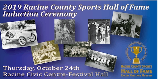 2019 Racine County Sports Hall of Fame Induction Ceremony