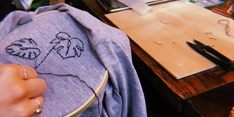 Full Circle Tees - Ancoats- Hand Stitch Workshop tickets