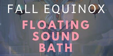 Fall Equinox Floating Sound Bath tickets