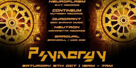 Psynergy presents: Neuroplasm tickets