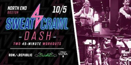 Sweat Crawl DASH (Boston) - North End - October 5 tickets