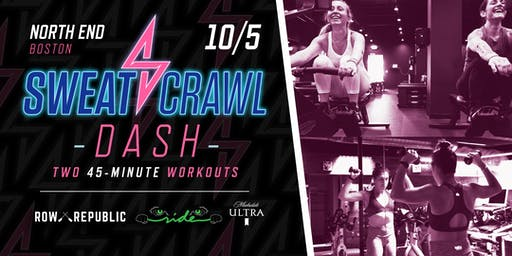 Sweat Crawl DASH (Boston) - North End - October 5