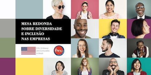 Mesa Redonda - Diversidade e Inclusão nas Empresas