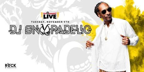DJ Snoopadelic (Snoop Dogg DJ Set) tickets
