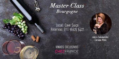 Master Class Bourgogne ingressos