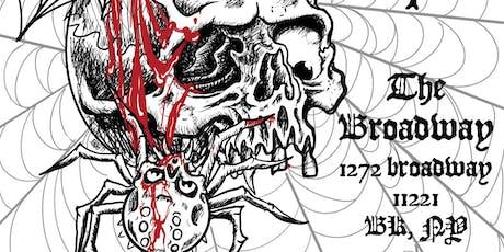 Skullshitter / Bleeding Out / Stimulant tickets