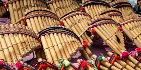 Flute of the Andes-Hispanic Heritage Month entradas