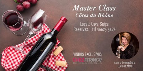 Master Class Côte Du Rhône ingressos