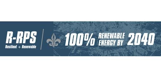 100% Renewable NOLA Campaign KickOff: Districts A&B