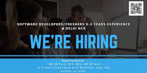 Delhi NCR Recruitment Drive