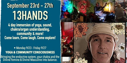 """Dalien """"13 Hands"""" Yoga and Sound Healing"""