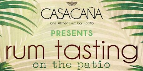 Last Patio Rum Tasting of the Season! tickets