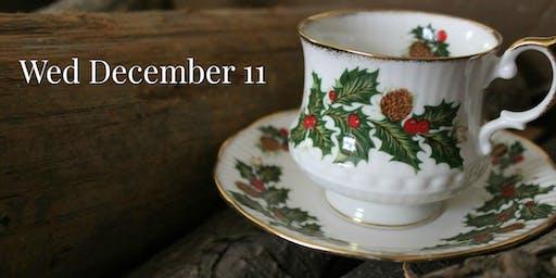 Wed Dec 11: Christmas Victorian Teas