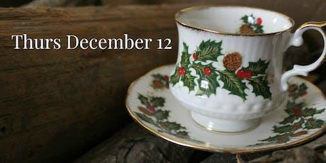 Thurs Dec 12: Christmas Victorian Teas tickets
