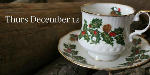 Thurs Dec 12: Christmas Victorian Teas