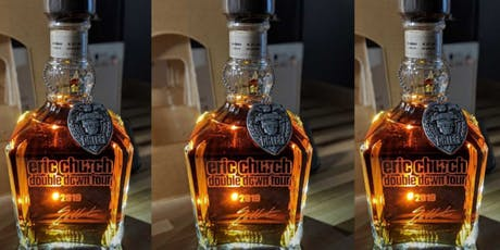 Jack Daniels Special Edition Eric Church  Double Down Tour Engraving tickets