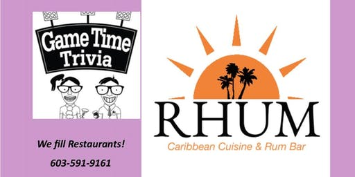 Game Time Trivia at Rhum Caribbean Bar Nashua
