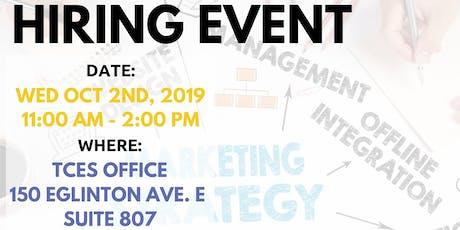 Digital Marketing Hiring Event tickets
