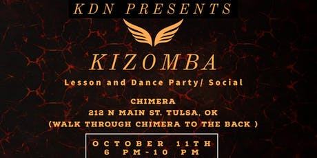 HOW TO DANCE KIZOMBA: LESSON AND DANCE PARTY/SOCIAL tickets