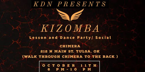 HOW TO DANCE KIZOMBA: LESSON AND DANCE PARTY/SOCIAL