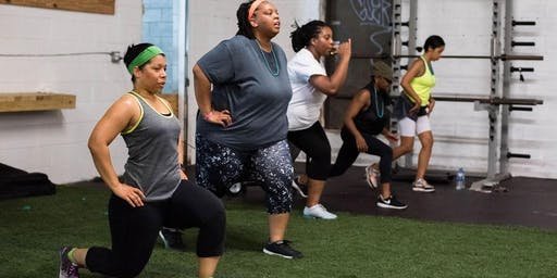Transformation Boot Camp Pop Up