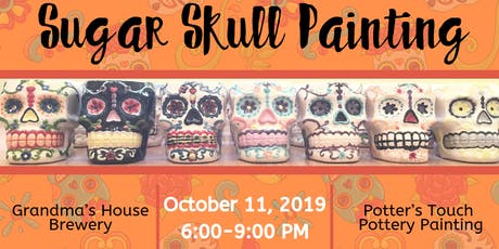 Sugar Skull Painting at Grandma's House Brewery (10/11) tickets