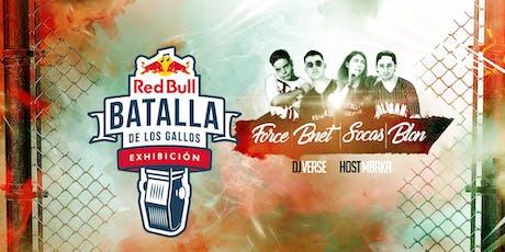Red Bull Batalla de Gallos Exhibición   A Coruña entradas