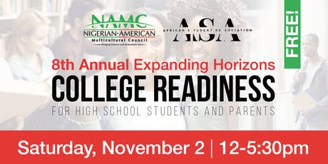 8th Annual NAMC College Readiness for High School Students and Parents tickets