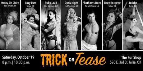 Lucy Furr presents Trick or Tease! *TWO Shows* tickets