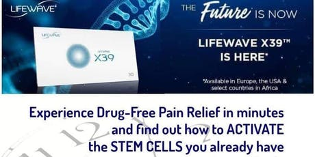 LifeWave Stem Cell Patch and FREE Pain Relief Demo tickets