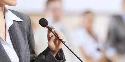 Women's Empowerment & Leadership Series, Session #2:  Speak Up!