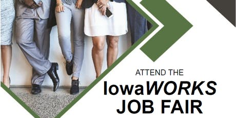 IowaWORKS September Job Fair tickets