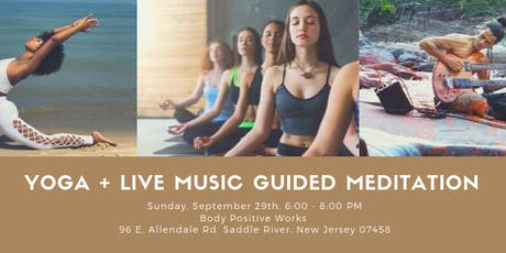 Heart Centered Yoga + Live Music Guided Meditation tickets