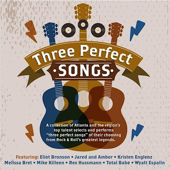 """Amplify Presents: """"Three Perfect Songs"""" image"""