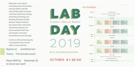 Blindman LAB Day tickets