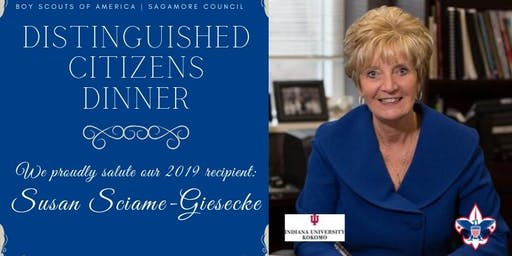 Distinguished Citizens Dinner Honoring Susan Sciame-Giesecke