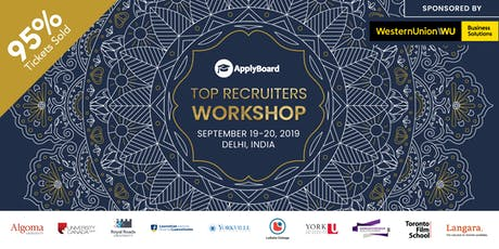 ApplyBoard Top Recruiters Workshop - Delhi, India tickets