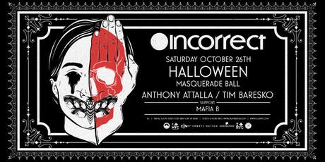 Anthony Attalla Presents Halloween MASQUERADE BALL NYC Boat Party tickets