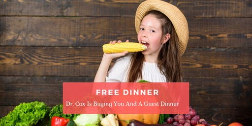 The Cause is the CURE | FREE Dinner Event with Dr. Chris Cox