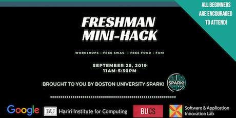 BU Spark! Freshman Mini-Hack tickets
