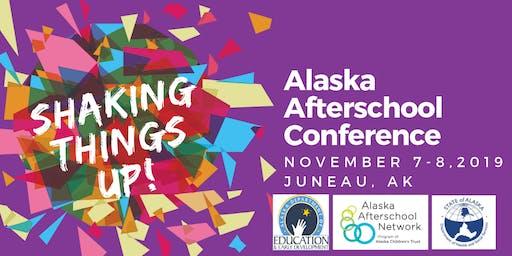 2019 Alaska Afterschool Conference Exhibit Hall Vendor Tabling