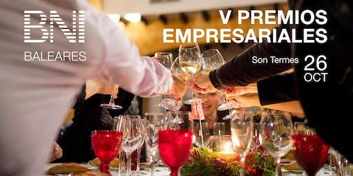 Cena V Premios Empresariales BNI Baleares