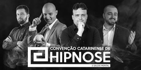 Convenção Catarinense de Hipnose e Saúde Mental ingressos