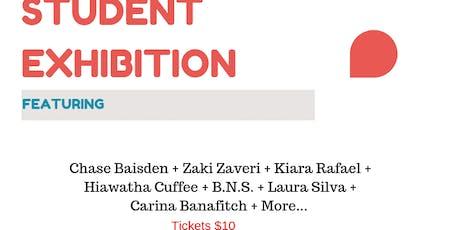 Student Art Exhibition tickets