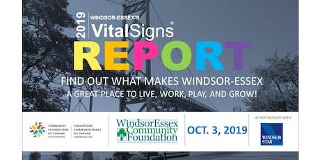 2019 Windsor-Essex's Vital Signs Report tickets