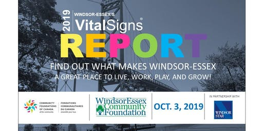 2019 Windsor-Essex's Vital Signs Report