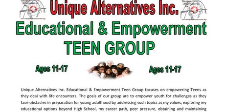 Unique Alternatives Co-Ed Teen Group tickets