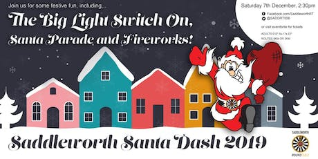Saddleworth Santa Dash 2019 tickets