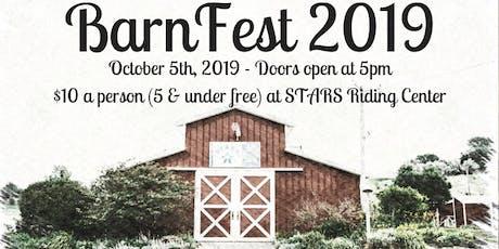 BarnFest 2019 tickets