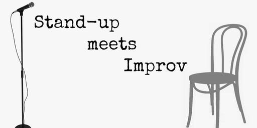 Unscripted: Stand-up Meets Improv and Friends